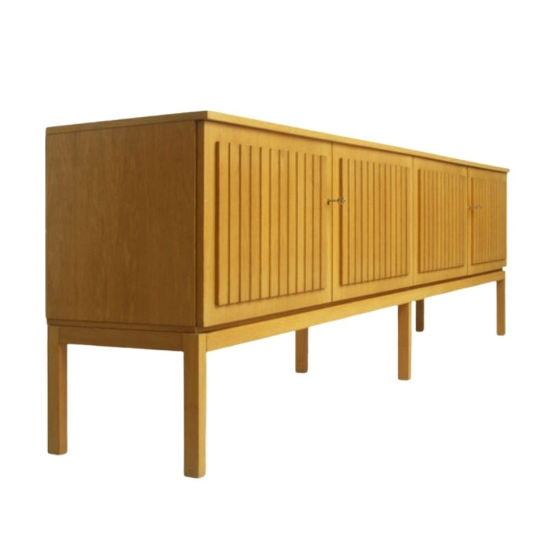 German Oak Wood Sideboard • Model Sylt, 1960s
