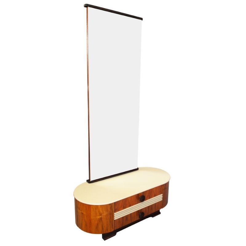 Mid Century Dressing Table by Jindrich Halabala for UP Brno