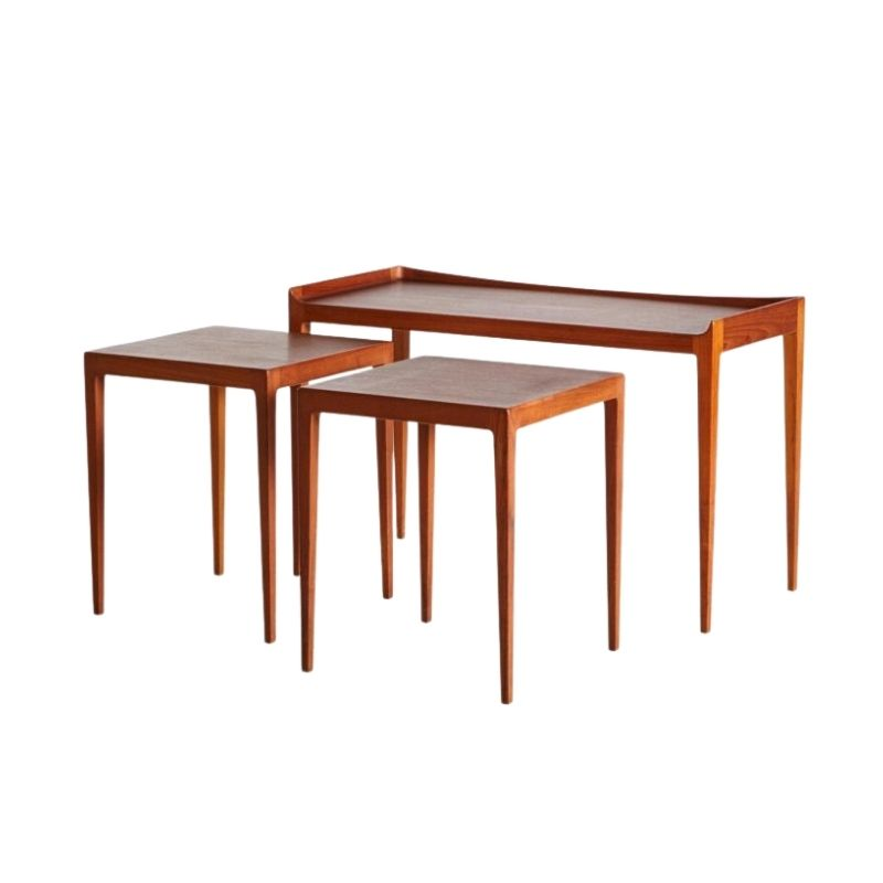 Nesting Tables by Kurt Ostervig , 1958, Set of 3
