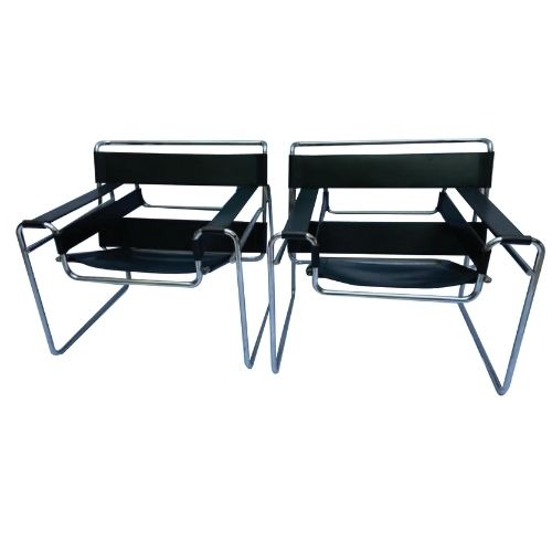 Pair of Wassily armchair – Marcel Breuer