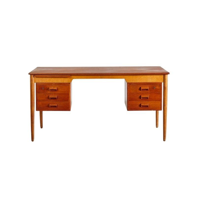 Desk by Børge Mogensen for Soborg, 1950s