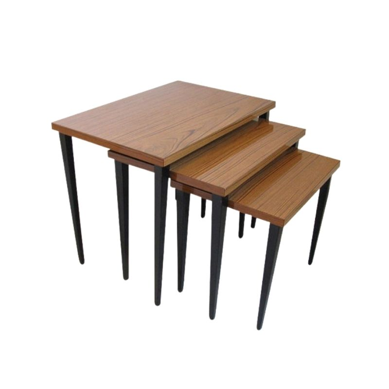 Set Of 3 Flower Bed : small table 1960