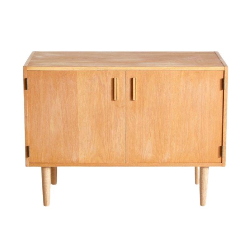 Vintage Danish Oak Cabinet, 1960s