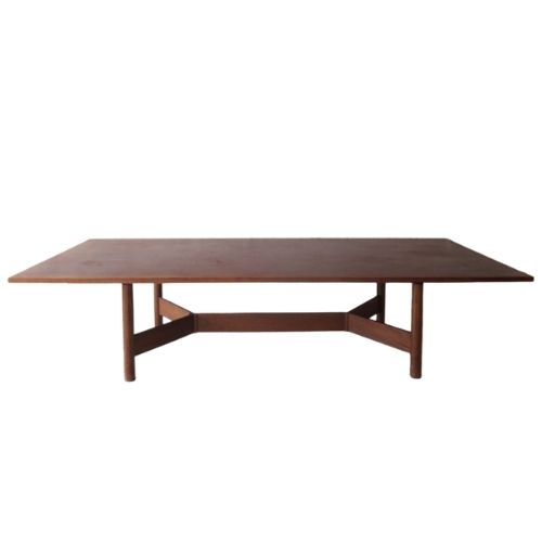large dinning table, 1970s