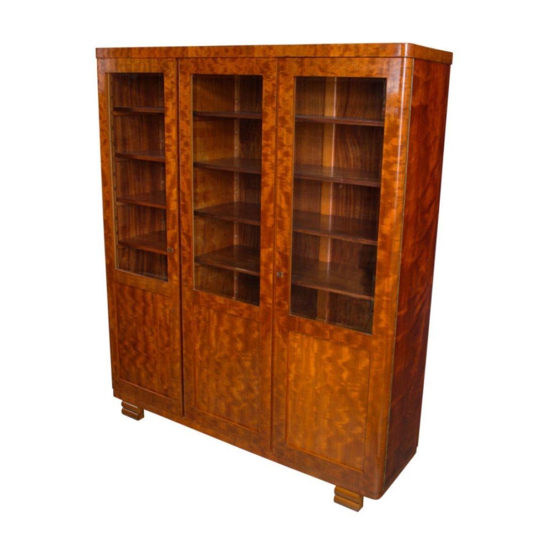 1920's Art Deco Bookcase