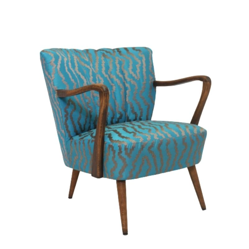 Art Deco armchair bentwood, 1950 designed in the style of Jindrich Halabala.