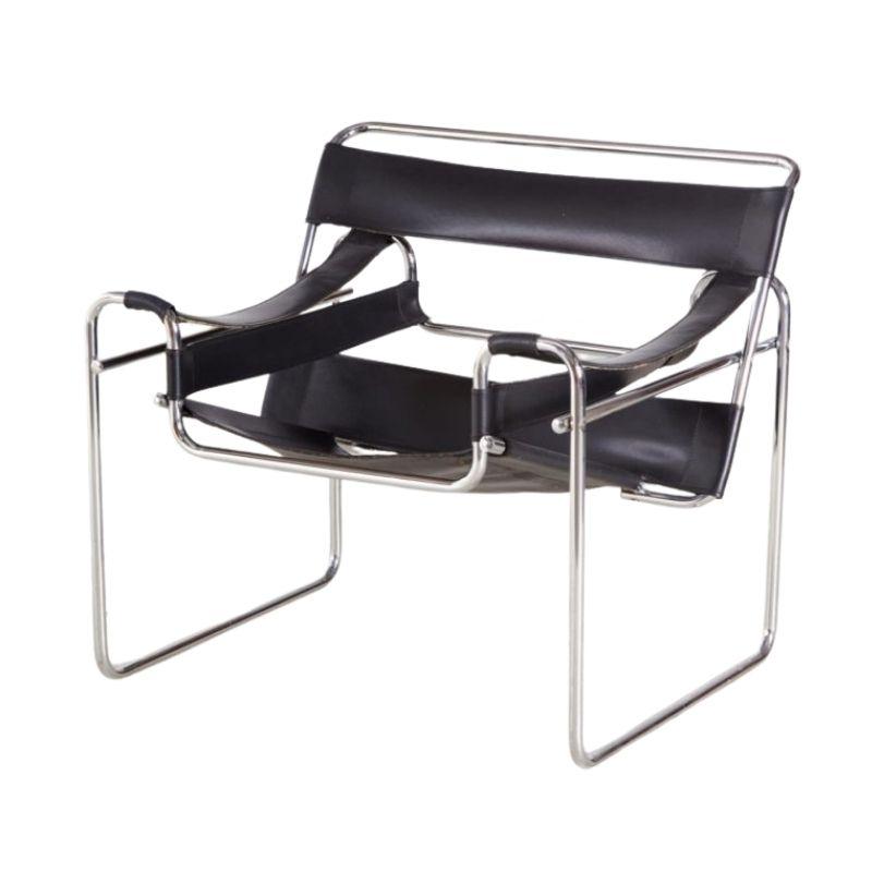 Bauhaus Style Tubular Lounge Chair