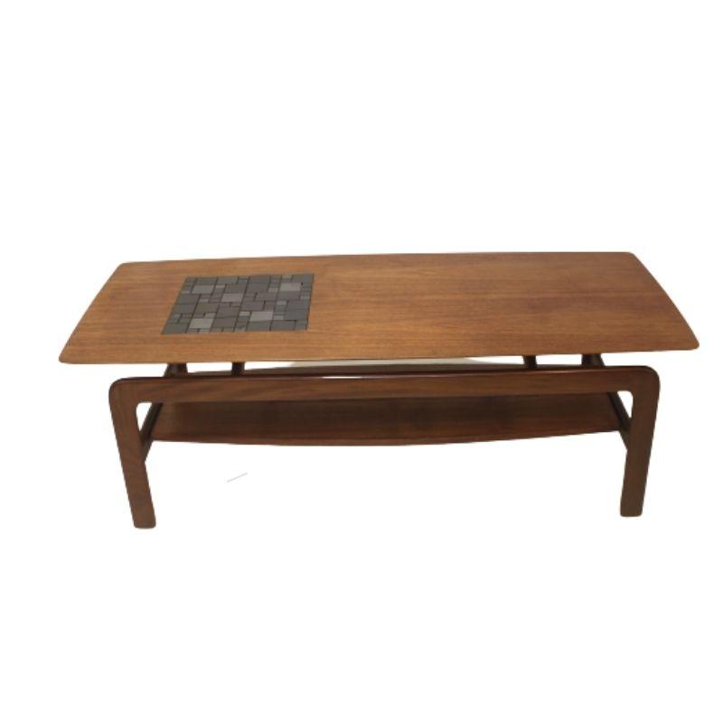 Coffee table and Danish teak 1970 style Arne Hovmand Olsen.