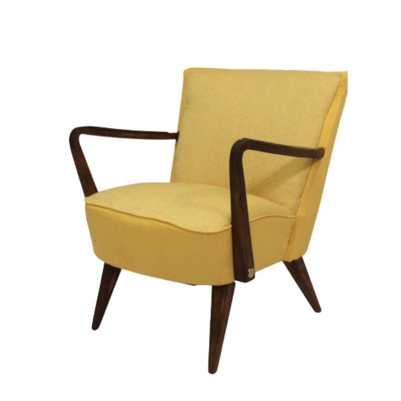 Vintage armchair year 50 restored.