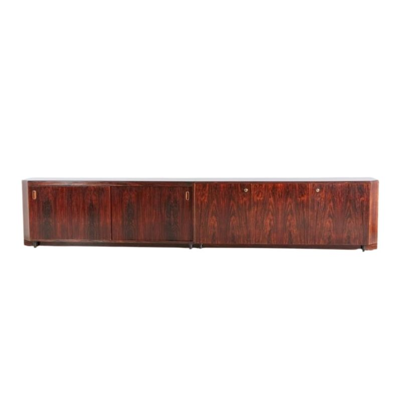 Giant Rosewood Sideboard, 1970s