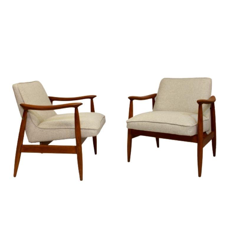 Pair of armchairs GFM-87 Juliusz Kedziorek 1960.