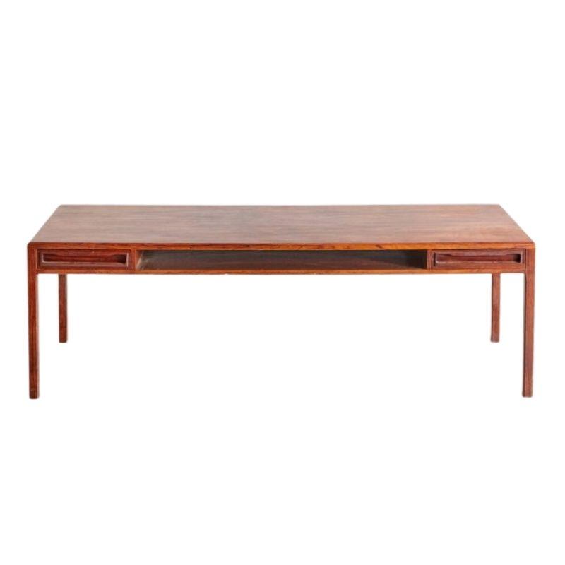 Restored Danish Rosewood Coffee Table, 1960s