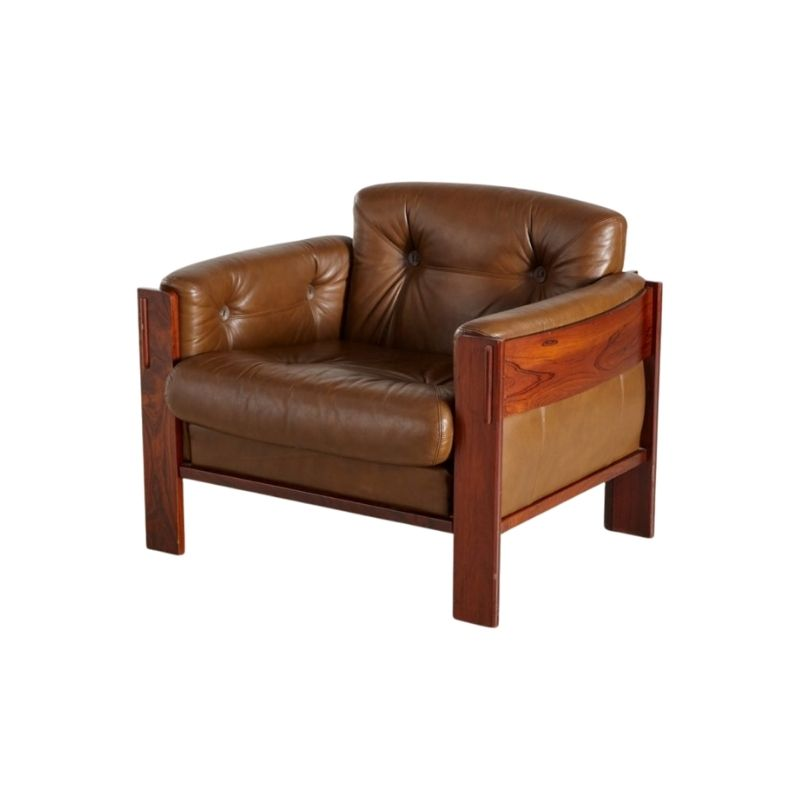 Rosewood Club Chair, 1960s