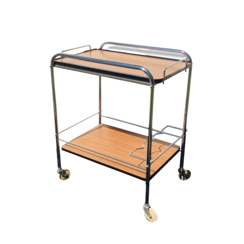 Vintage Serving bar Trolley. Years 60s: 70s.