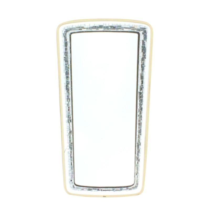 Vintage free-form Vintage mirror ( 80 x 43 )