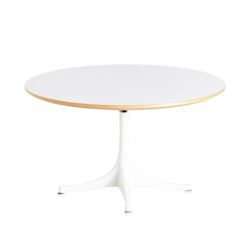 White Model 5452 Coffee Table by George Nelson for Vitra, 1954