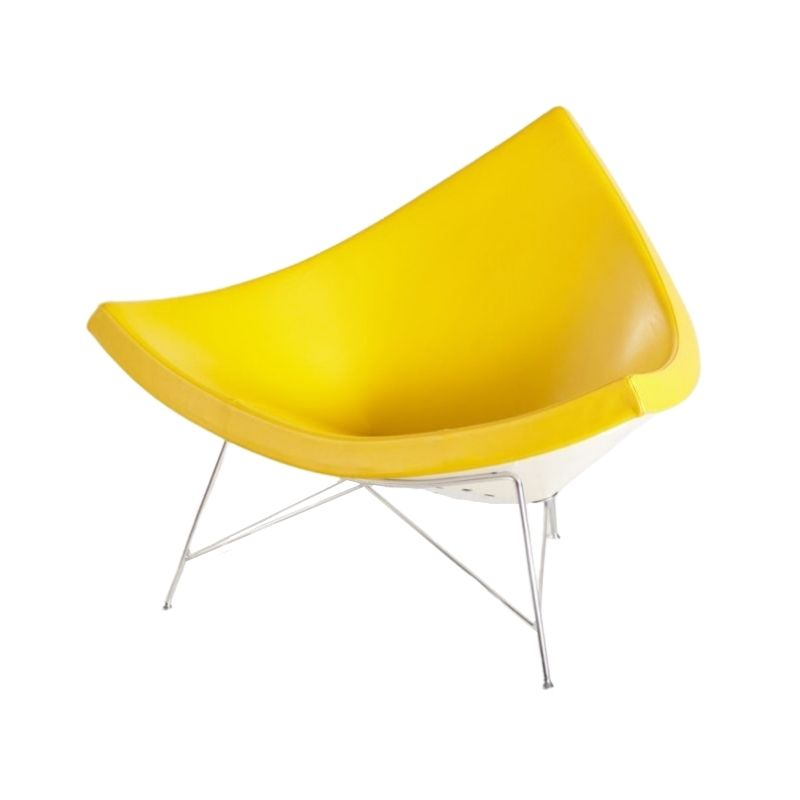 Yellow Coconut Chair by George Nelson for Vitra, 1955