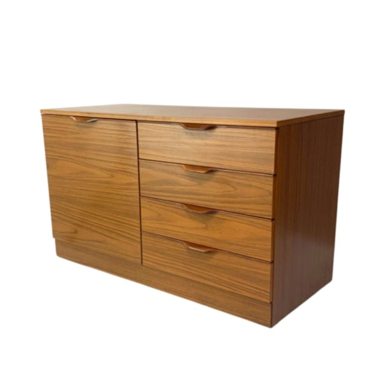 1970's mid century formica sideboard / chest of drawers