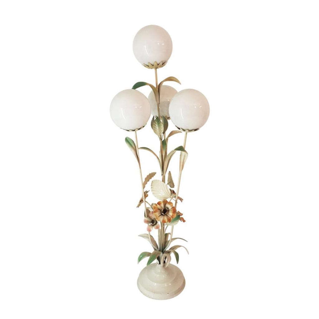 Flower Four Globe Floor Lamp