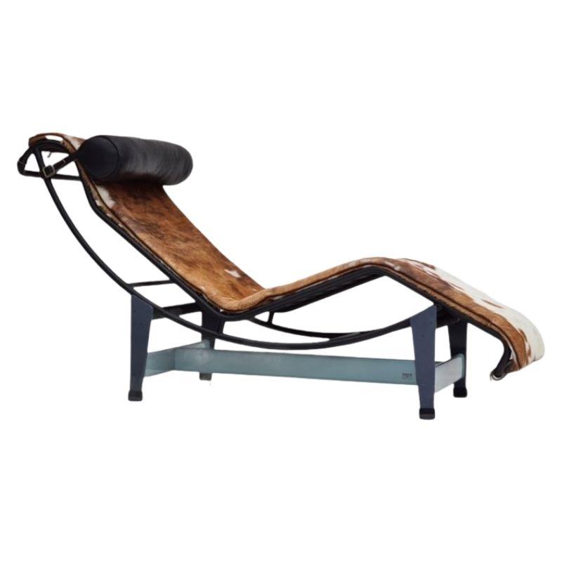 Le Corbusier, Cassina – LC4 Chaise Longue, cowhide, 80s