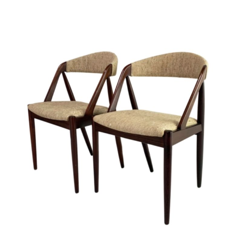 Mid century Kai Kristiansen No 31 dining chair for Schou Andersen (2 available)