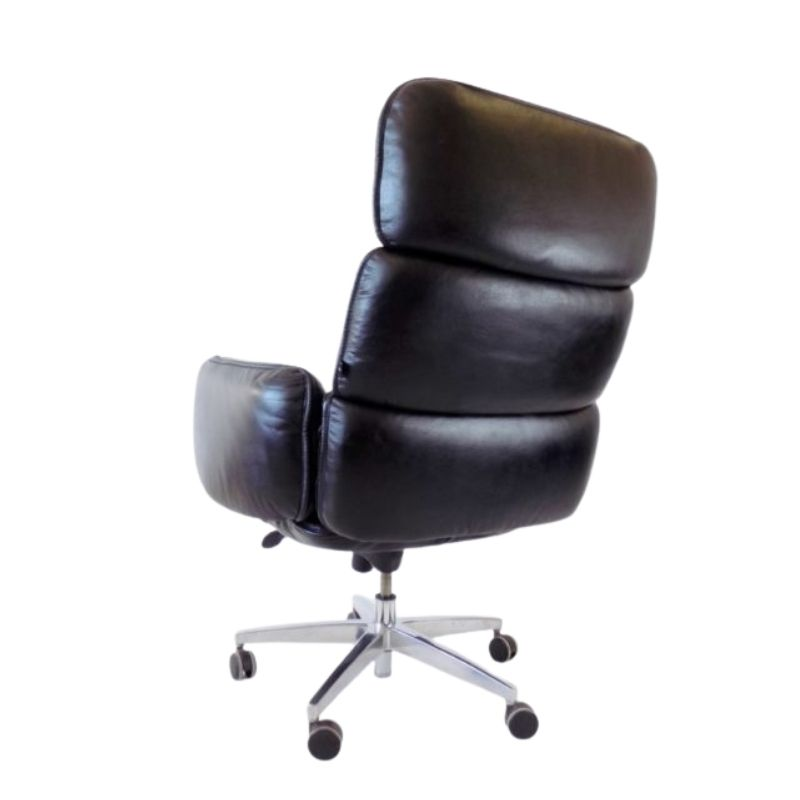 Otto Zapf leather office armchair for top star
