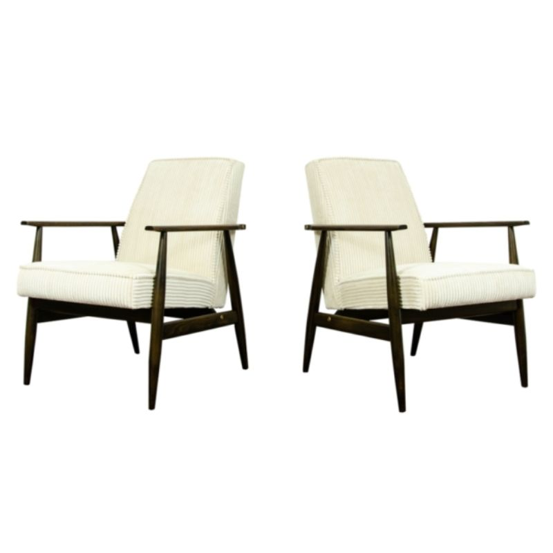 Pair Of Type 300-190 Armchairs By H. Lis, 1960s