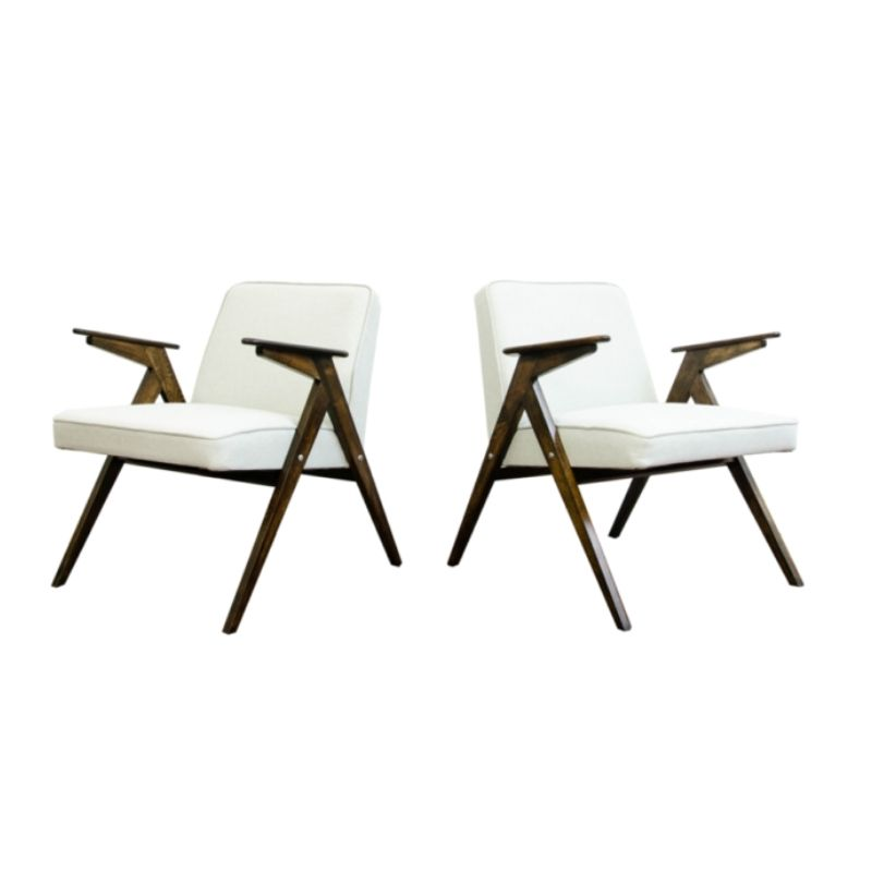 Pair of 300-177 armchairs, 1960's