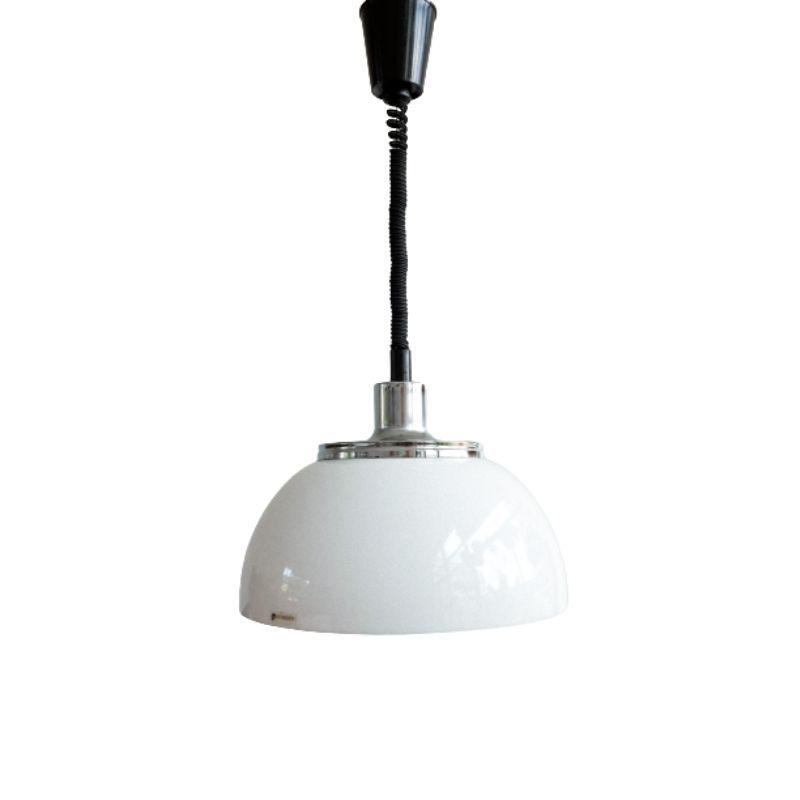 Space Age Adjustable Pendant Lamp by iGuzzini for Meblo, 1970s