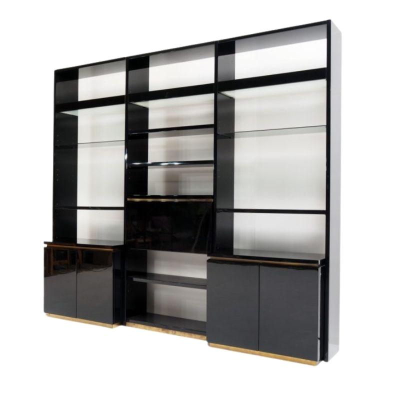 Wall unit by luxury designer Jean Claude Mahey