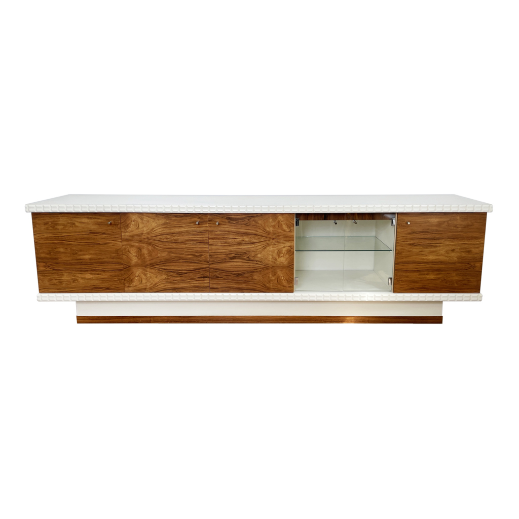 MidCentury rosewood german sideboard 1970s