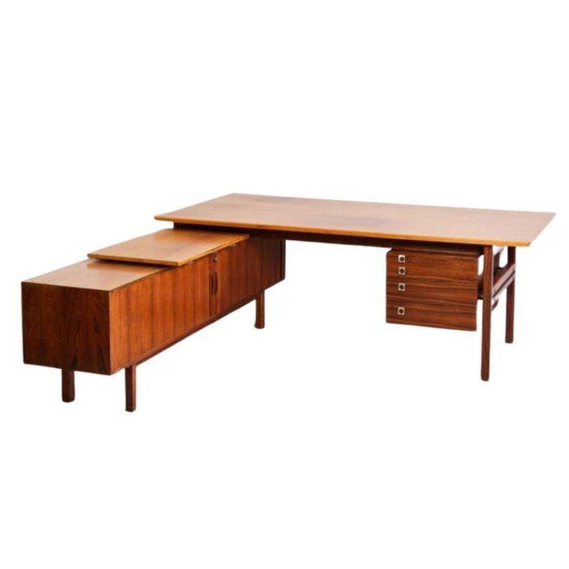 Arne Vodder Rosewood executive desk