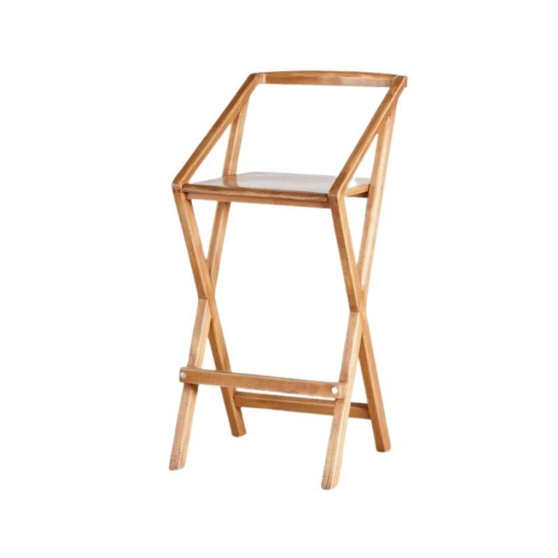 Beech bar stool