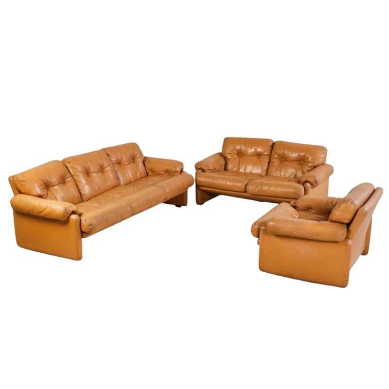 Coronado leather sofa set