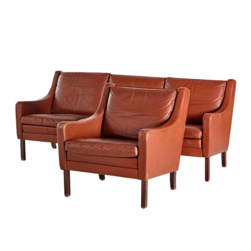 Danish leather set
