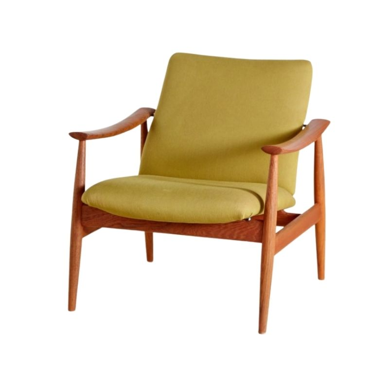 Finn Juhl model 138 teak armchair