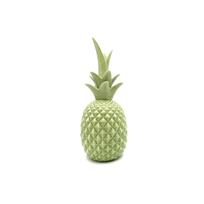 Green Pineapple ceramic sculpture, 1980