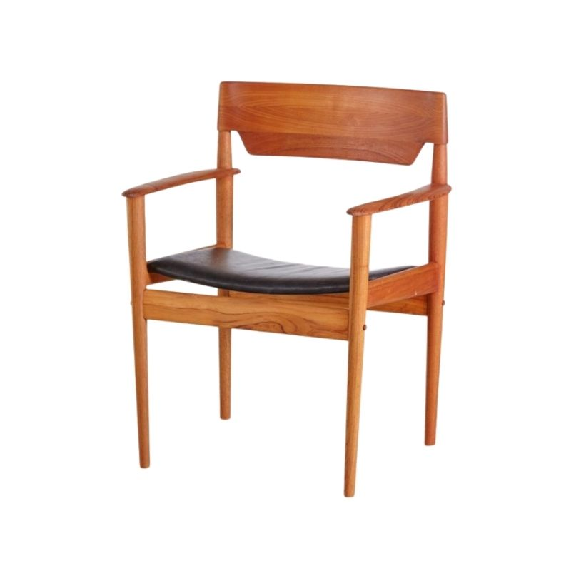 Grete Jalk PJ4-2 teak armchair