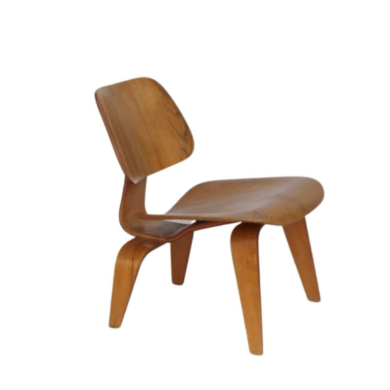 LCW lounge chair by Charles & Ray Eames for Herman Miller 1950s