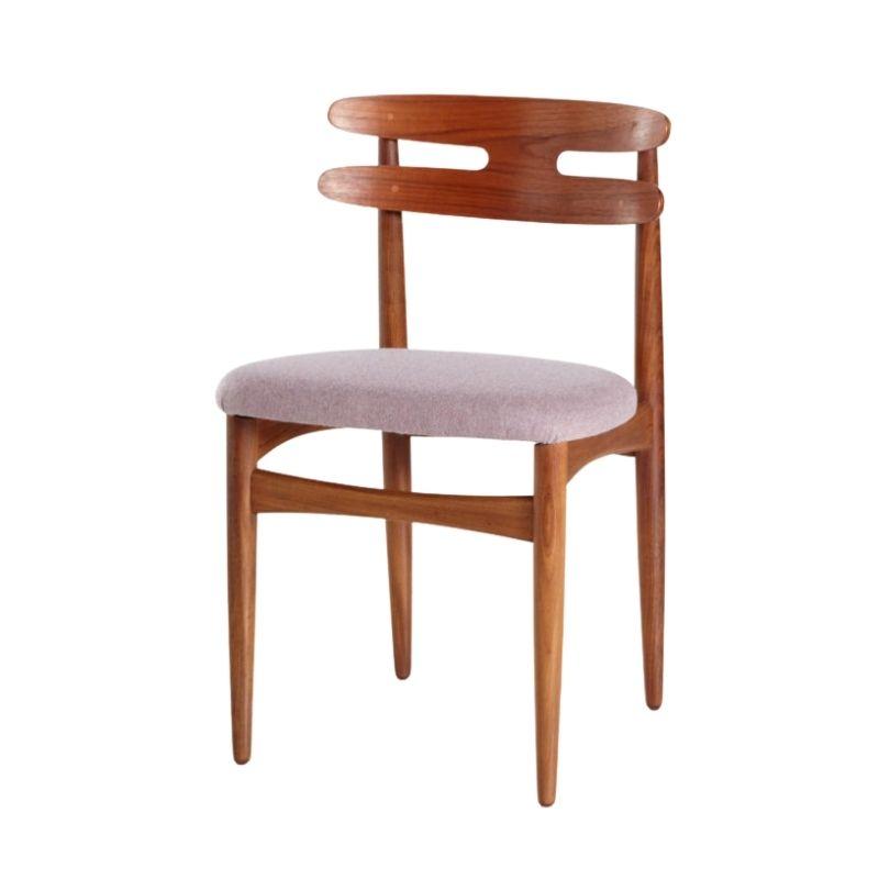 Model 178 teak dining chair by Johannes Andersen for Bramin
