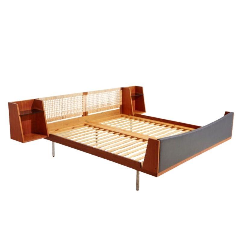 Model 701 teak double bed by Hans J. Wegner for Getama