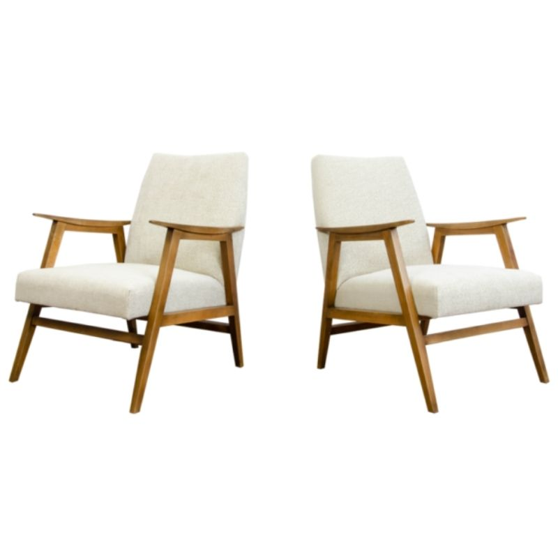 Pair of armchairs from Chodzież 1960's