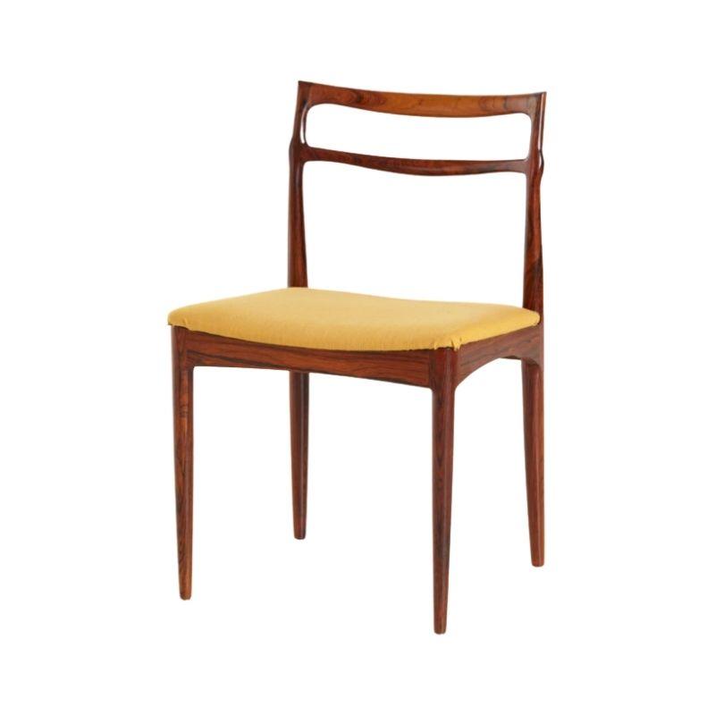 Rosewood dining chair by Johannes Andersen for Christian Linneberg Mobelkfabrik
