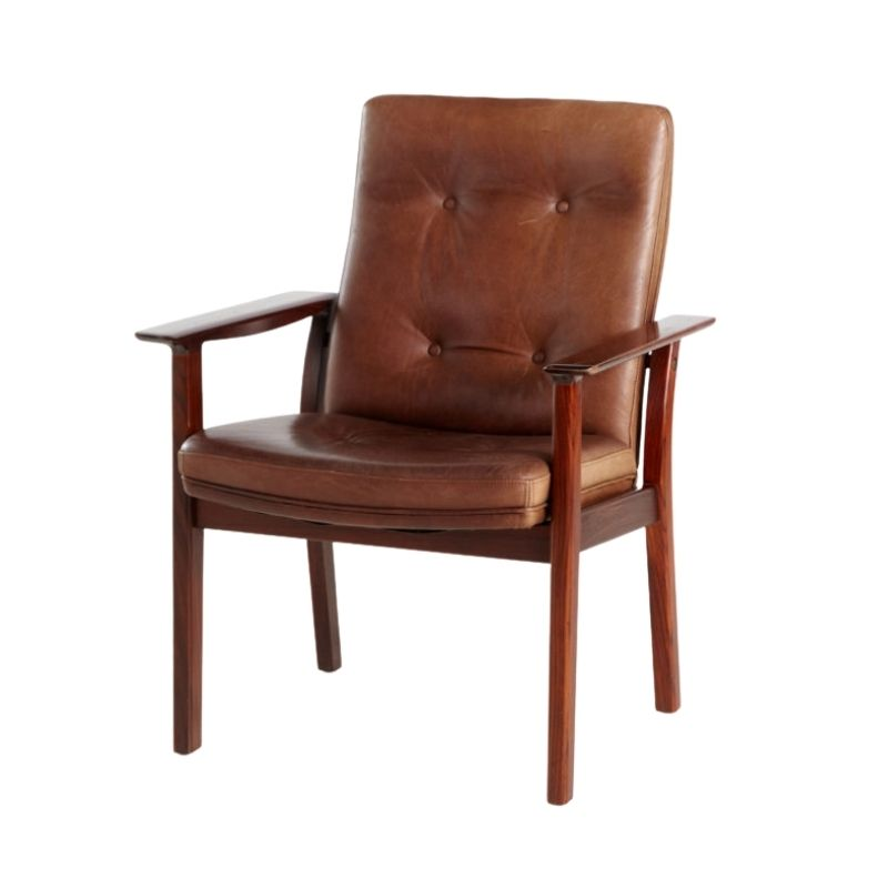 Rosewood armchair by Arne Vodder for Sibast