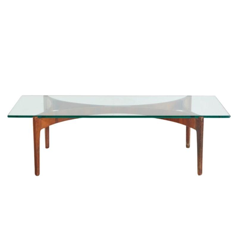 Rosewood coffee table by Sven Ellekaer for Christian Linneberg Mobelfabrik
