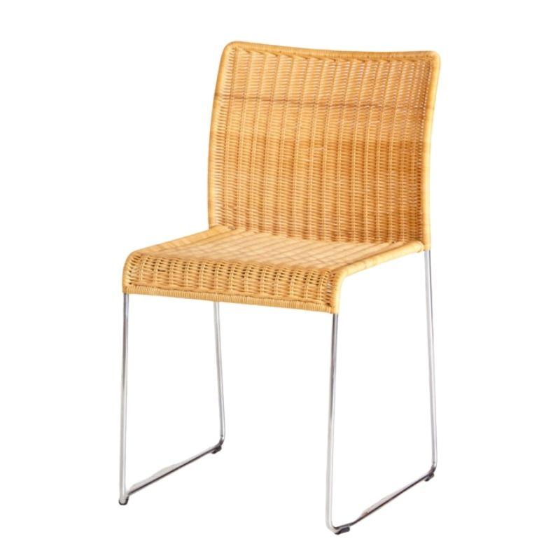 S.21 Rattan chair by Tito Agnoli for Pierantonio Bonacina