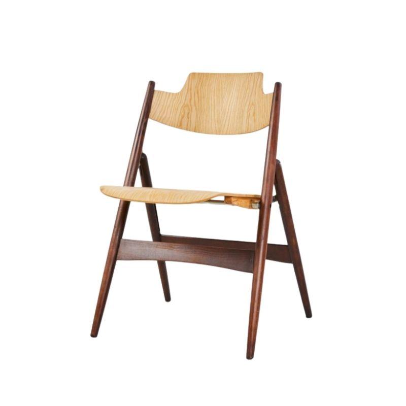 Se 18 foldable chair by Egon Eierman for wilde+spieth