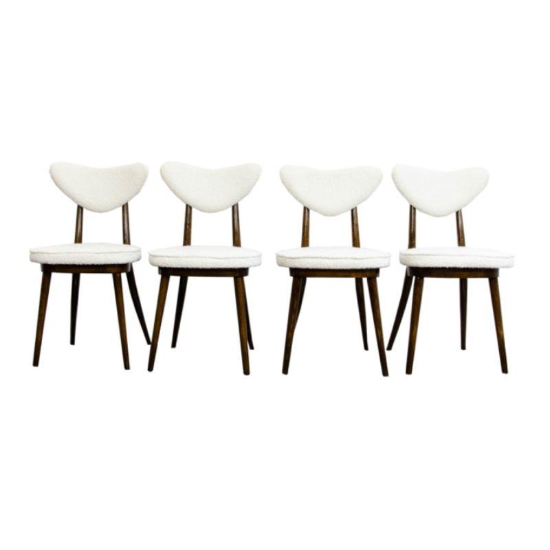 Set of 4 chairs No 124 by H & J Kurmanowicz
