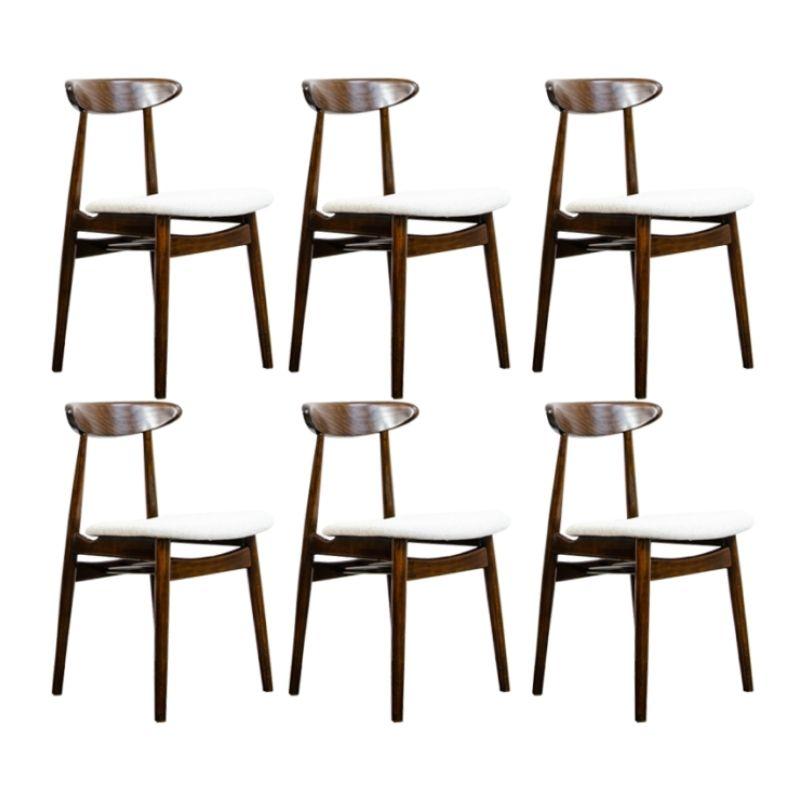 Set of 6 chairs Type 5912 by Zamojskie Fabryki Mebli 1960's