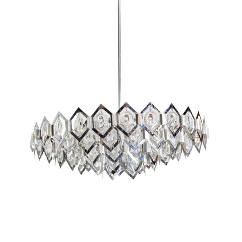 Special glass : metal pendant